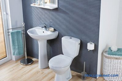 How to choose the toilet without splashes to wash well + Video