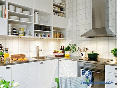 Scandinavian style kitchen - how to create an interior design, 70 photo ideas