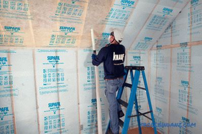 Insulation for a frame house: which one is better