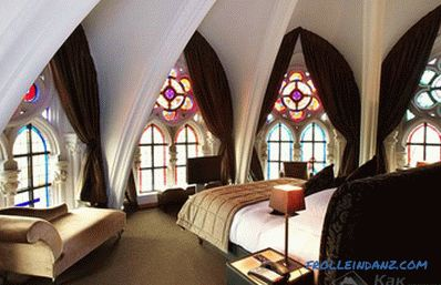 Gothic style in the interior - Gothic in the interior (+ photos)