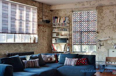 Blinds in the interior - the rules of selection and photo ideas for use