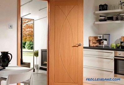 Interior doors in the interior - the rules of selection and photo design ideas