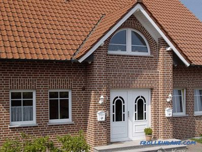 Which facing brick is better - the choice of facing brick