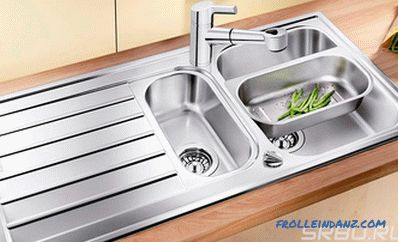 How to choose a sink for the kitchen - practical tips
