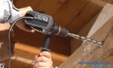 How to drill a concrete wall, metal, tile and wood + Photo and Video
