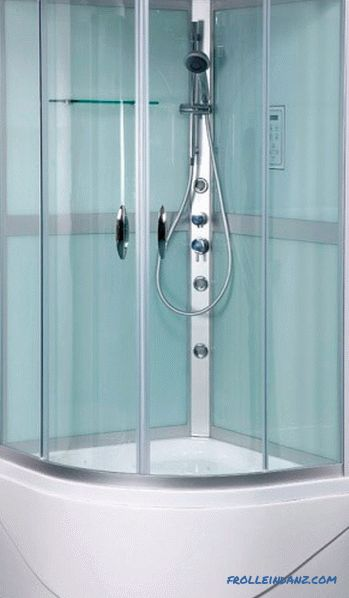 Rating of shower cabins by quality - the best open, closed and combined