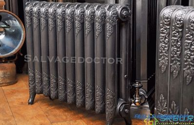 Pig-iron radiators - technical characteristics of heating devices + Video