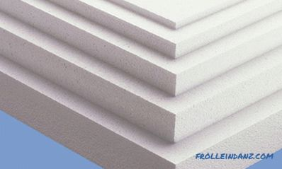 Polyfoam - characteristics and properties of a heater