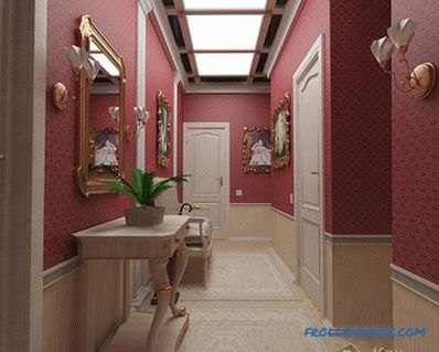 How to choose a wallpaper for the corridor (+ photo)