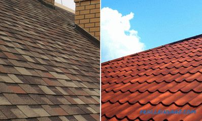 What is better metal or soft roof for the roof of a private house