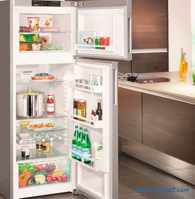 Types of refrigerators for the home - a detailed review