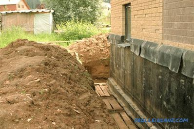 How to make a foundation on clay for home