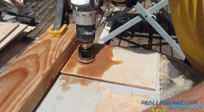 How to drill ceramic tiles + Photo and Video