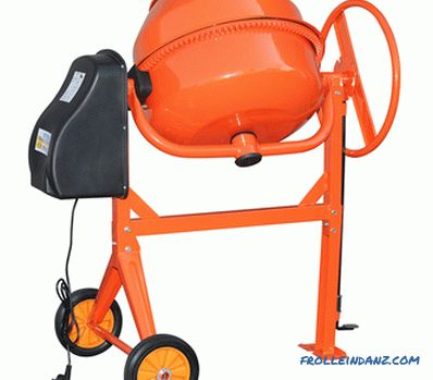 How to choose a concrete mixer for home and garden + Video
