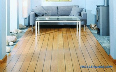 Technology laying flooring: features
