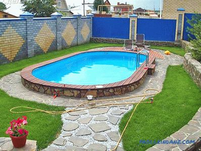 Swimming pool in the country with their own hands + photos, schemes