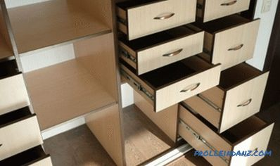 Do-it-yourself drawers: features