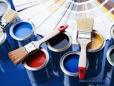How to paint a wooden house outside