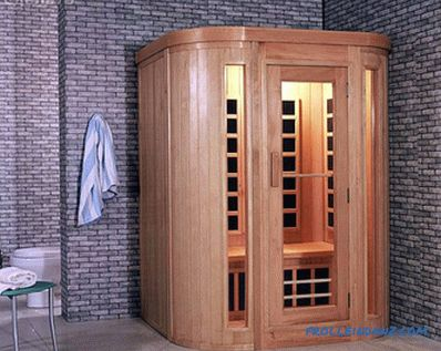 Sauna in the apartment with their own hands