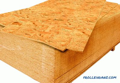 OSB stove - harmful to health and environmental friendliness