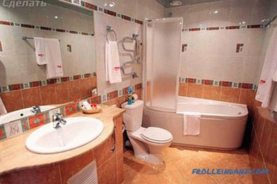 Combining a bathroom and toilet - how to make redevelopment (+ photo)
