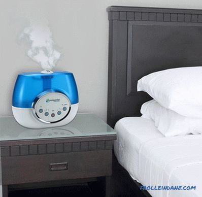 How to choose a humidifier for an apartment or house + Video