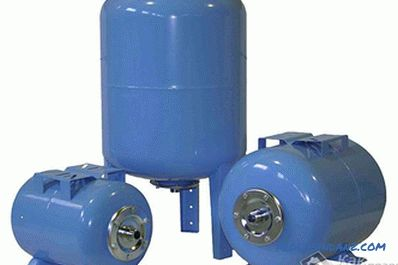 How to choose a membrane tank - the choice of membrane tank