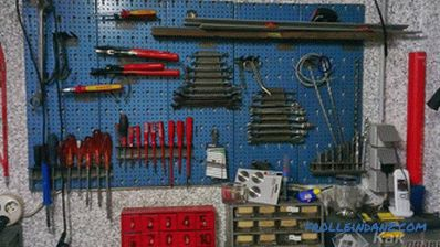 Arranging a garage with your own hands - how to equip a garage (+ photos)