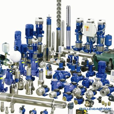 How to choose water pumps - choice of water pumps