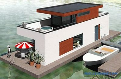 How to build a house on the water