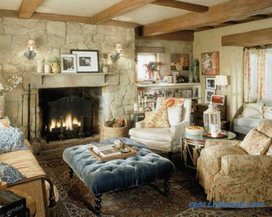Country style in the interior - the rules of creation and photo examples
