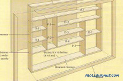 Make a bookshelf with your own hands: the choice of materials, assembly, decoration