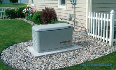 Which generator to choose for home or giving