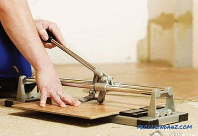 How to choose a tile cutter - the features of tile cutters