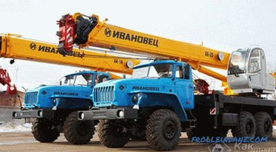 How to rent a construction crane - features of a construction crane rental