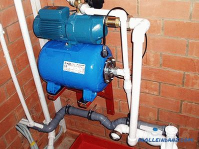 How to choose a pumping station for a private house
