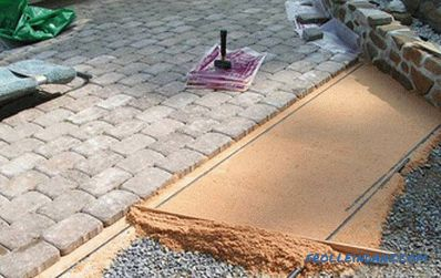 Laying paving tiles do it yourself