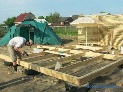 The foundation for a gazebo do it yourself
