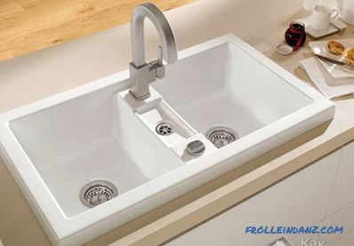How to install a sink - options for installing a sink