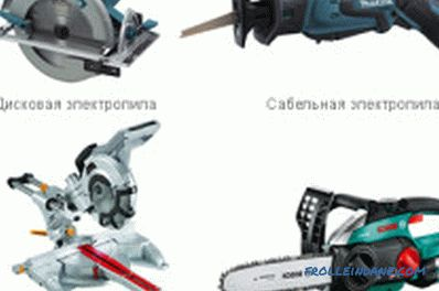 How to choose a chain electric saw to give?