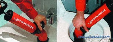 How to use a plunger - cleaning plunger