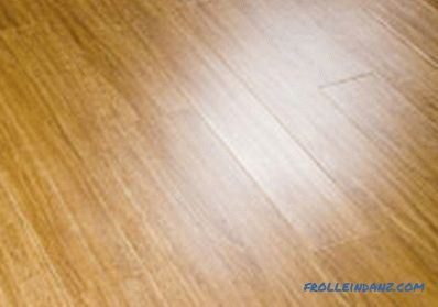 What are the types of laminate in design, shape, wear resistance classes + Photo