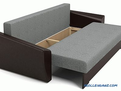 Sofa for daily sleep - which is better to choose the mechanism, filling, upholstery, frame