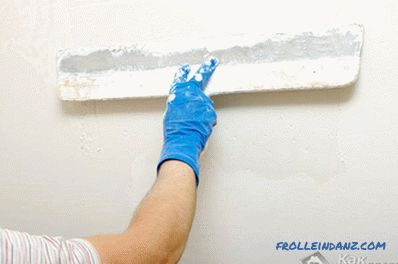 Preparing walls for decorative plaster