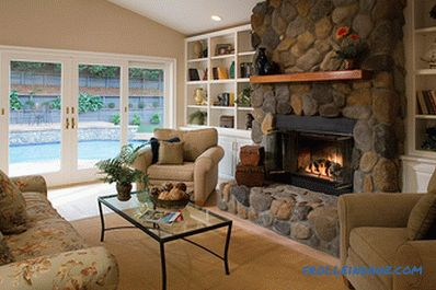 Fireplaces in the interior - 100 design ideas with photos