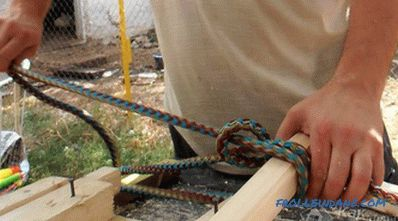 Do-it-yourself rope ladder (+ photos)