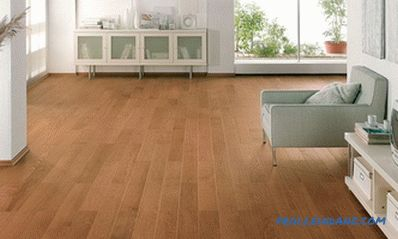 Technology laying floorboard in a short time with their own hands (video)