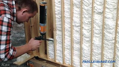 How to apply mounting foam - applying mounting foam