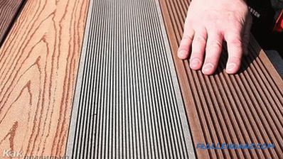 DIY decking - installation of decking