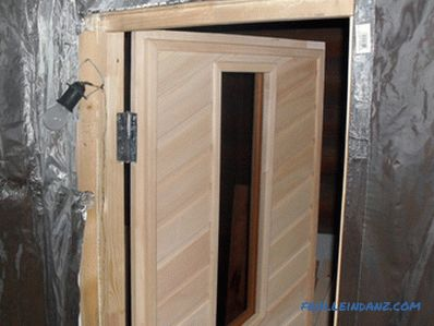 Do-it-yourself lining door - creation technology